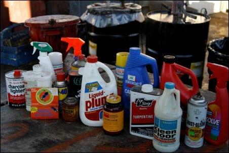 Centru colectare deseuri chimice periculoase Focsani Vrancea